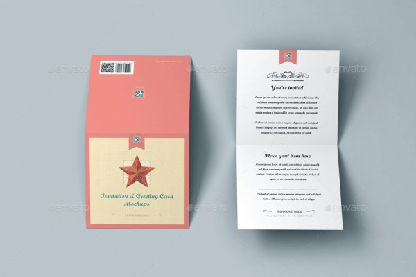 myGreeting Card Mock-up Bundle 2