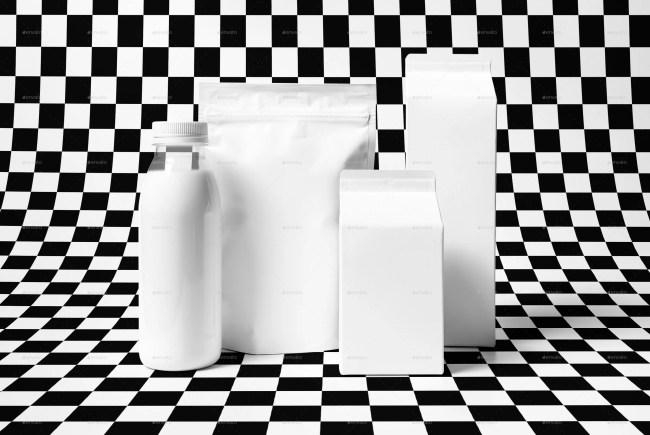 Milk Mockup