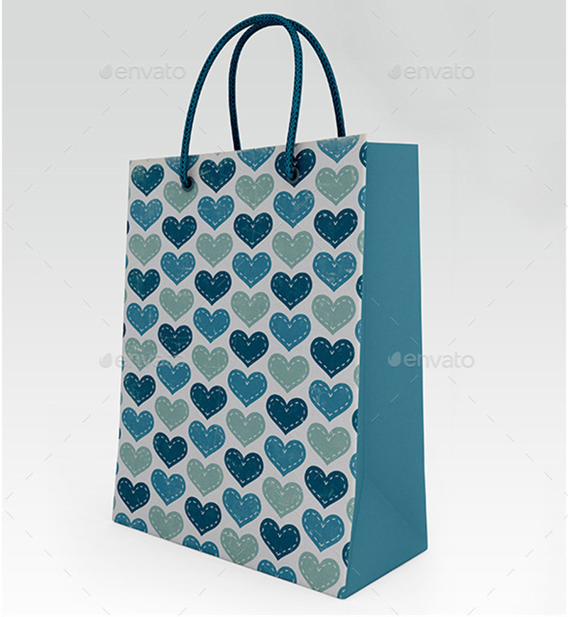 amazing psd shopping bag mockup