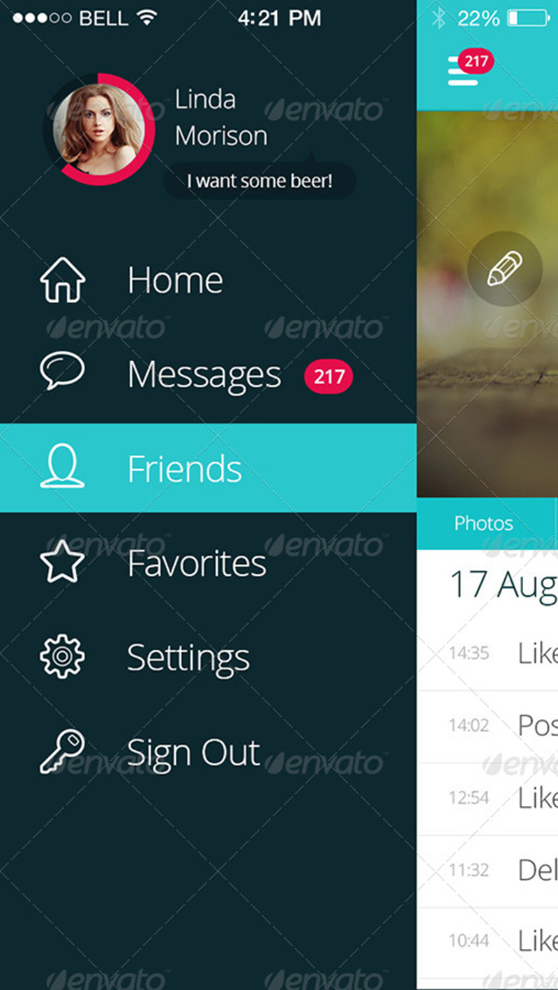 awesome premium mobile app mockup psd design