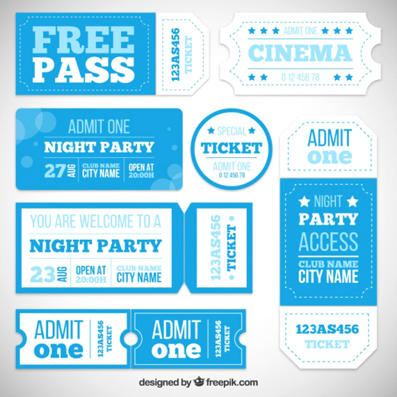 15+ Free Event Ticket Mockups | Psdtemplatesblog