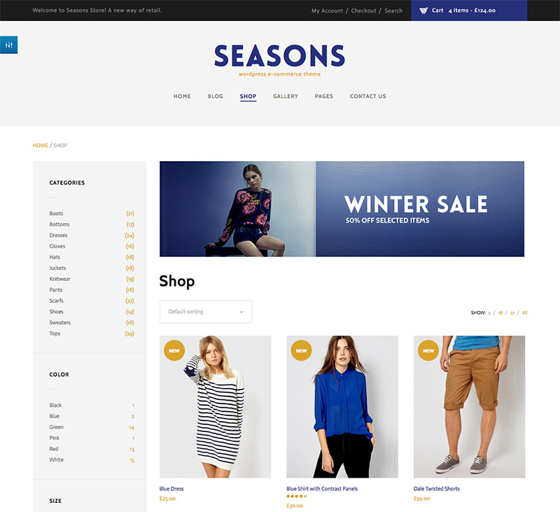 modern and fantastic premium wordpress wooCommerce theme