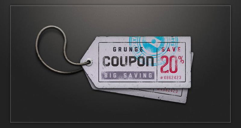 nice and unique event ticket template mockup free psd