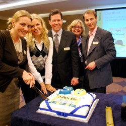 Hertz Sverige 50 år - firas av Hertz International i London.
