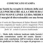 COMUNICATO STAMPA SIP-OPG