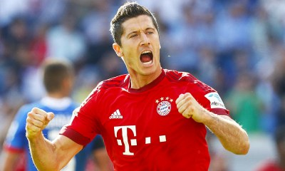 Robert Lewandowski Bayern Munich 1