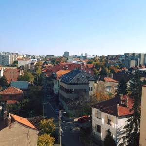 My view in Belgrade