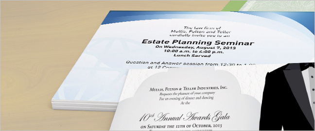 Best Business Invitation Wording Examples - invitation card event