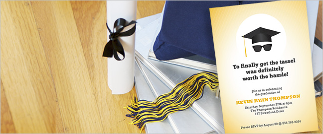 Make Your Own Graduation Invitation Cards - Resources
