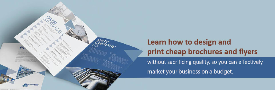 Brochure and Flyer Marketing on a Budget - Resources