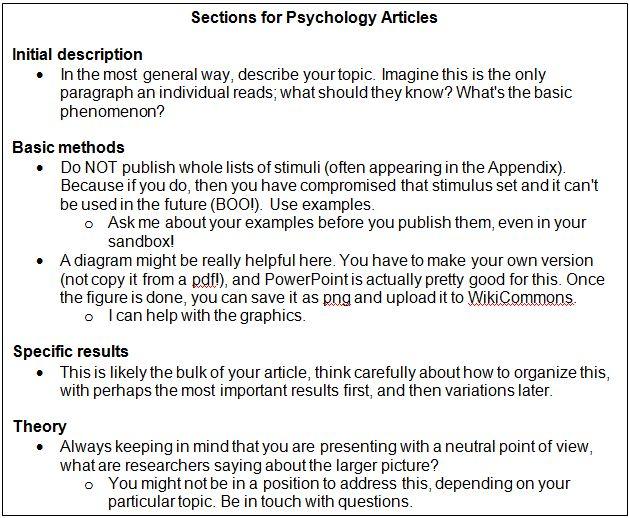 Having Undergraduates Write for Wikipedia \u2013 Association for