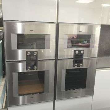 The Gaggenau ovens