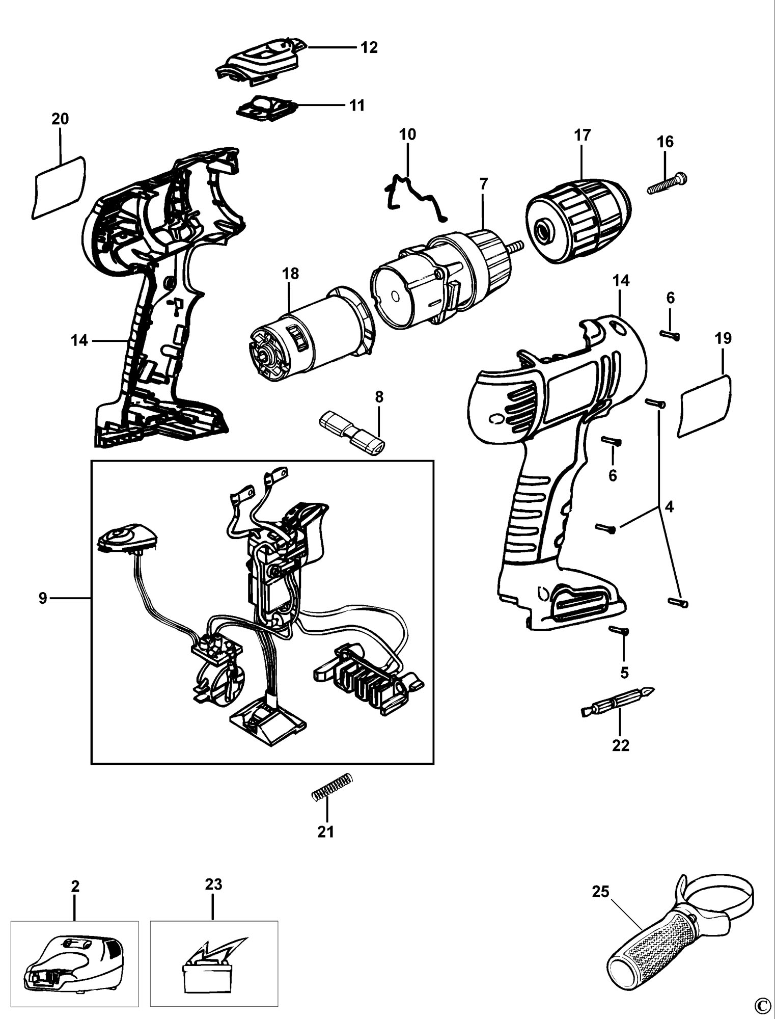 black and decker wiring diagrams