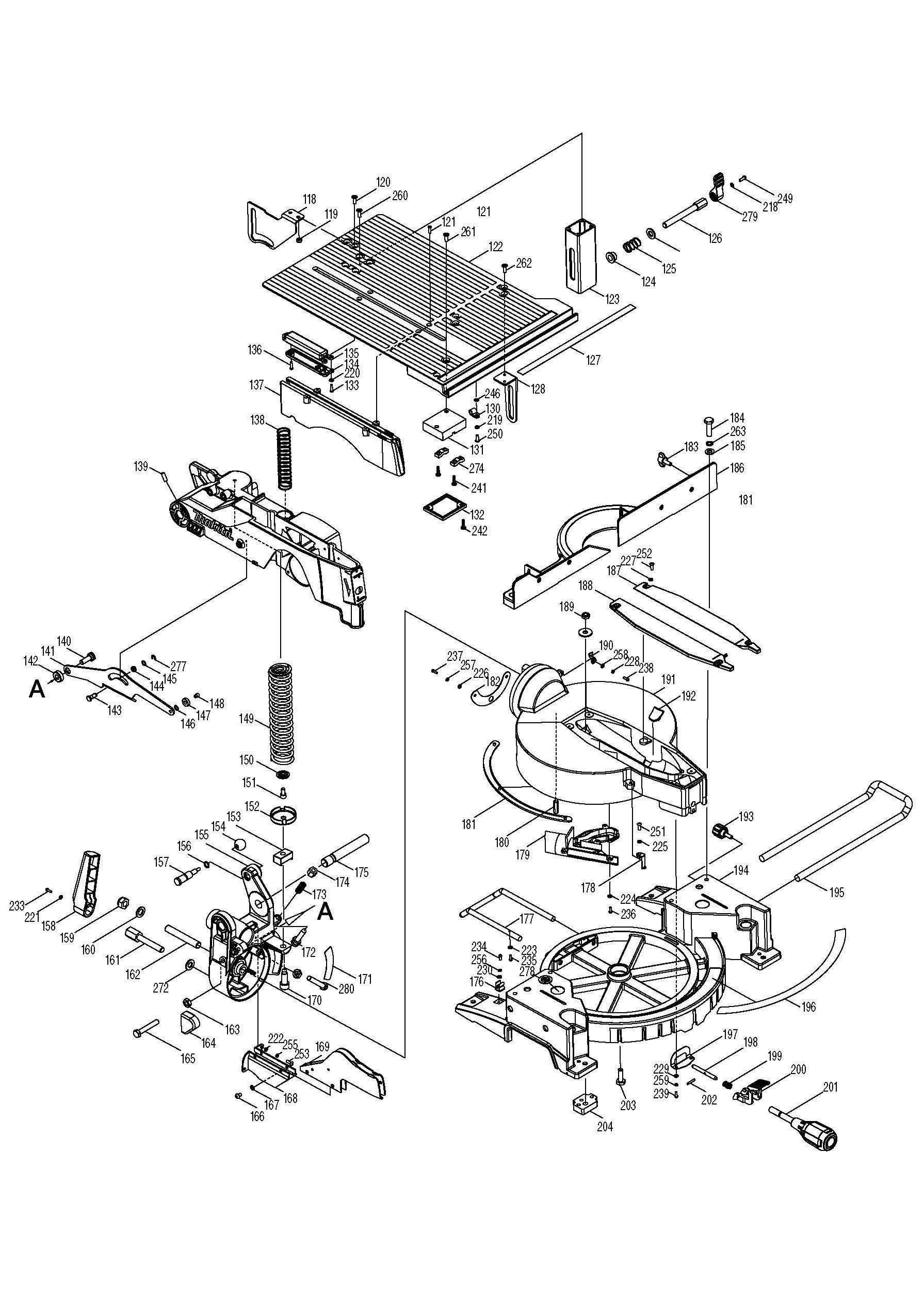 makita mlt100 wiring diagram