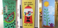 Teacher Appreciation Door Decorating IdeasTips for PTO ...