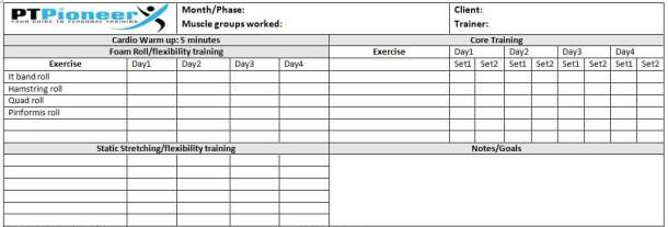 Pt program template costumepartyrun workout schedule template maxwellsz
