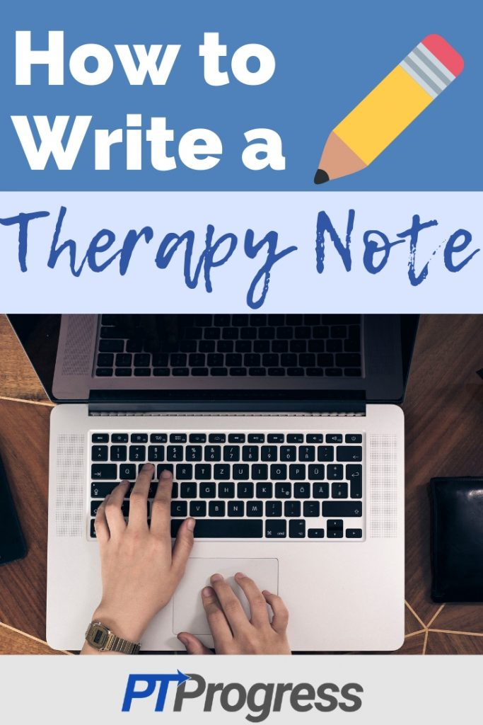 Physical Therapy Daily Note Example