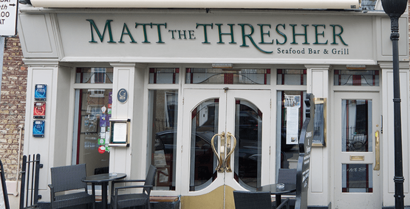 Matt The Thresher restaurant Dublin