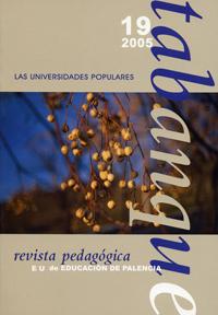 TABANQUE. REVISTA PEDAGÓGICA 19 (2005). LAS UNIVERSIDADES POPULARES