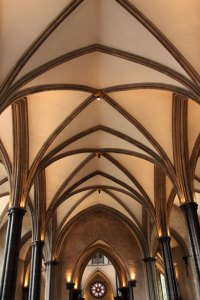 Ceiling In Church Free Stock Photo - Public Domain Pictures