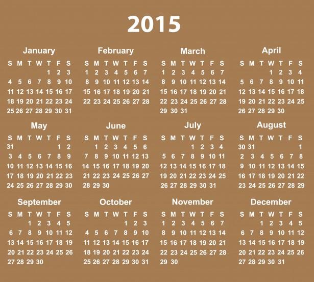 printable free 2015 calendar