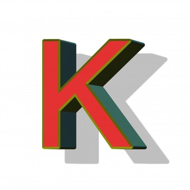 Letter K Free Stock Photo