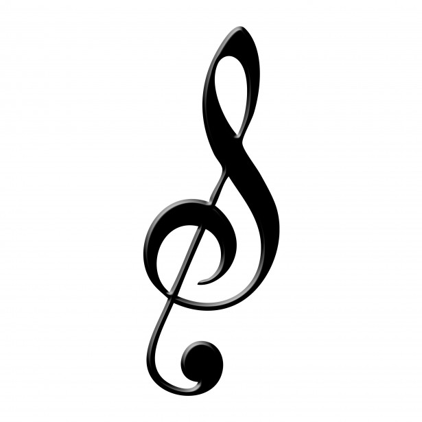 Treble Clef Free Stock Photo - Public Domain Pictures