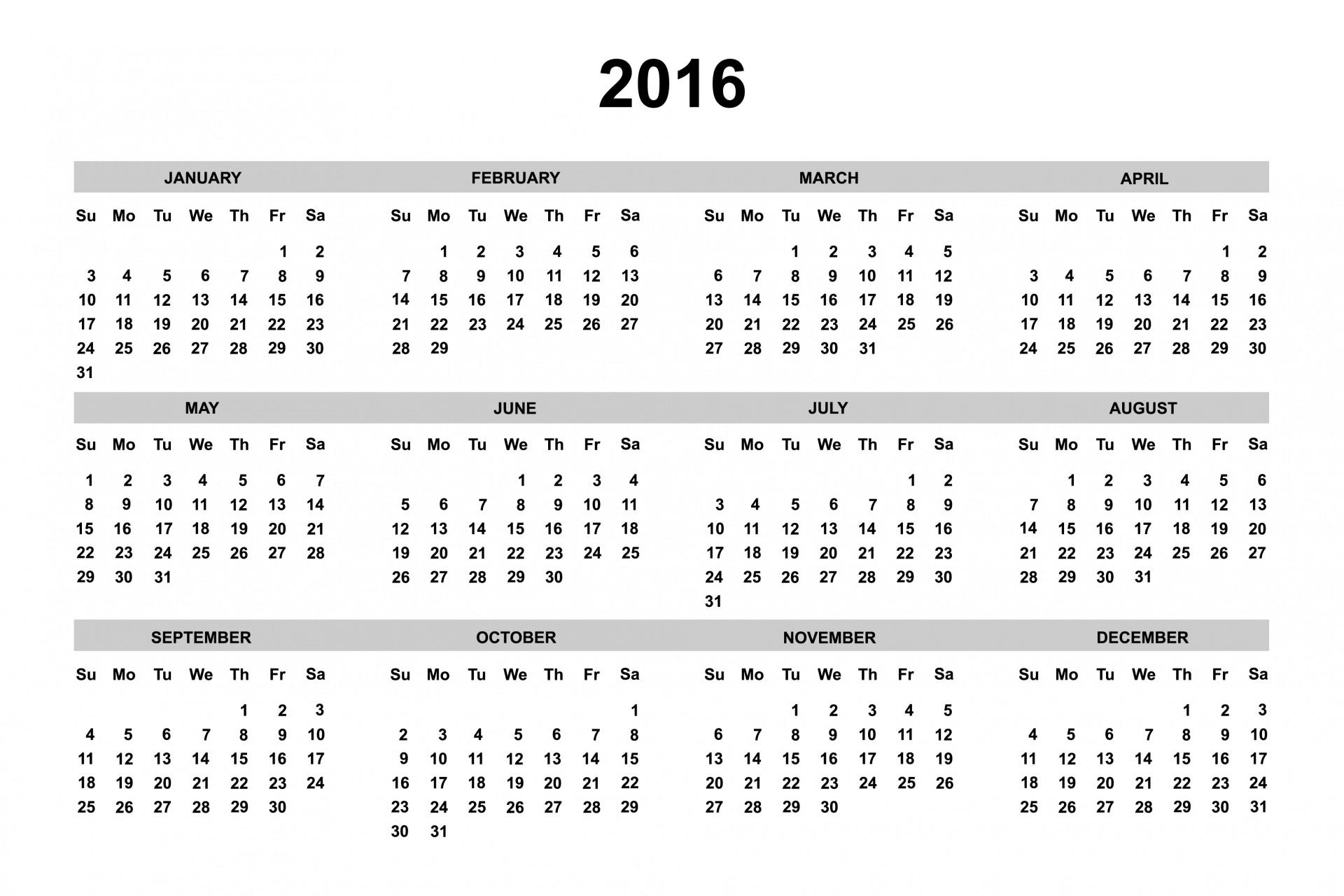 monthly calendar planner 2015