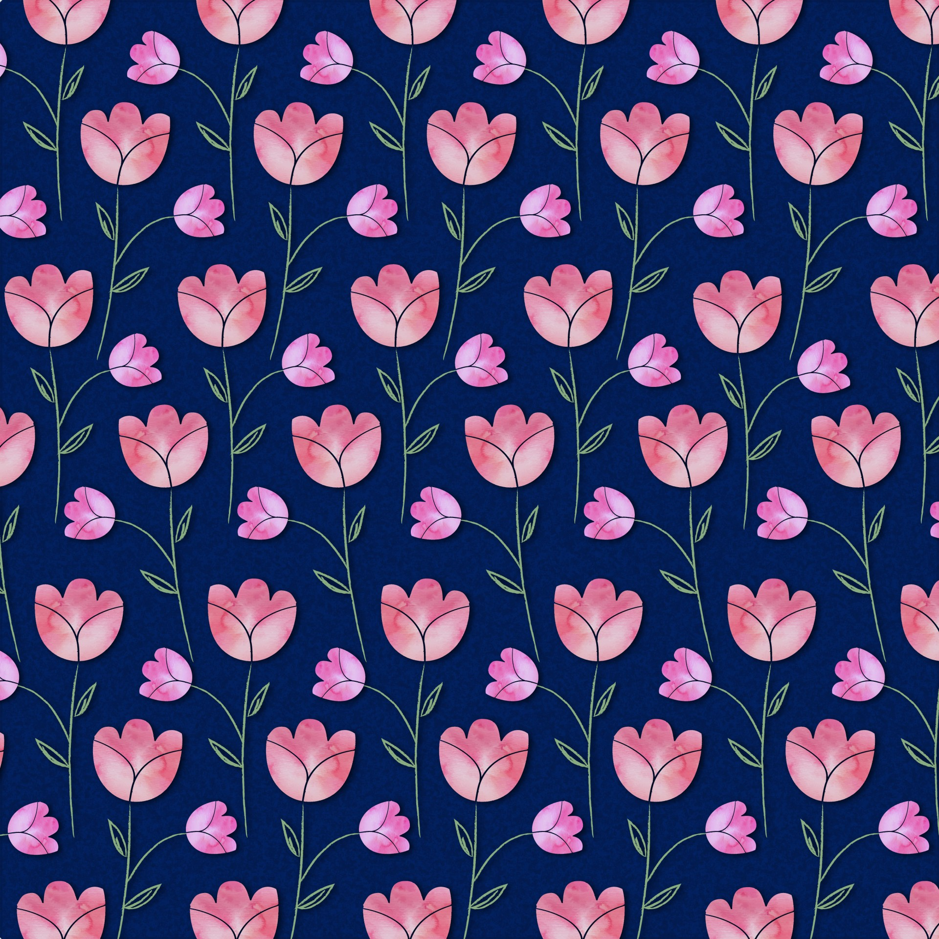 Pattern Wallpaper Hd Watercolor Flowers Pattern Free Stock Photo Public