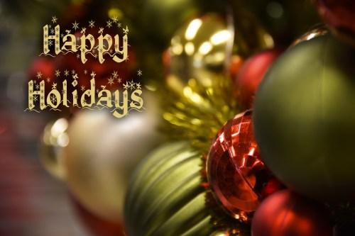 Medium Of Happy Holidays Wishes