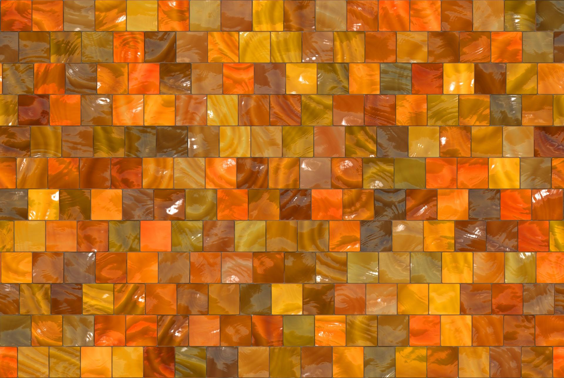 Fall Pattern Wallpaper Seamless Squares Autumn Background Free Stock Photo