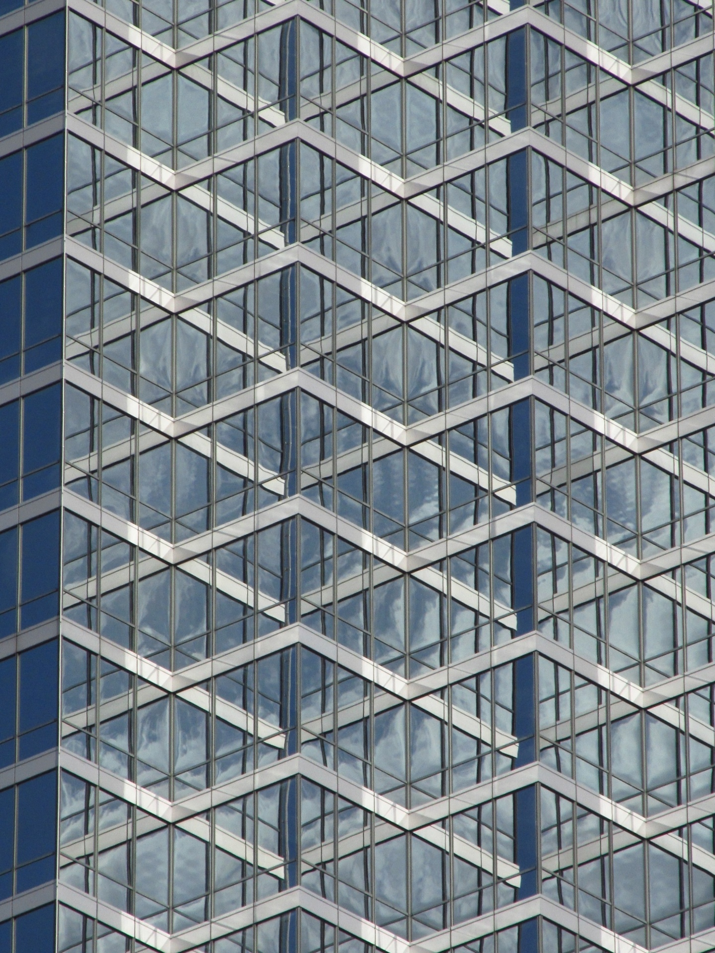Black Abstract Wallpaper Office Building Glass Facade Free Stock Photo Public