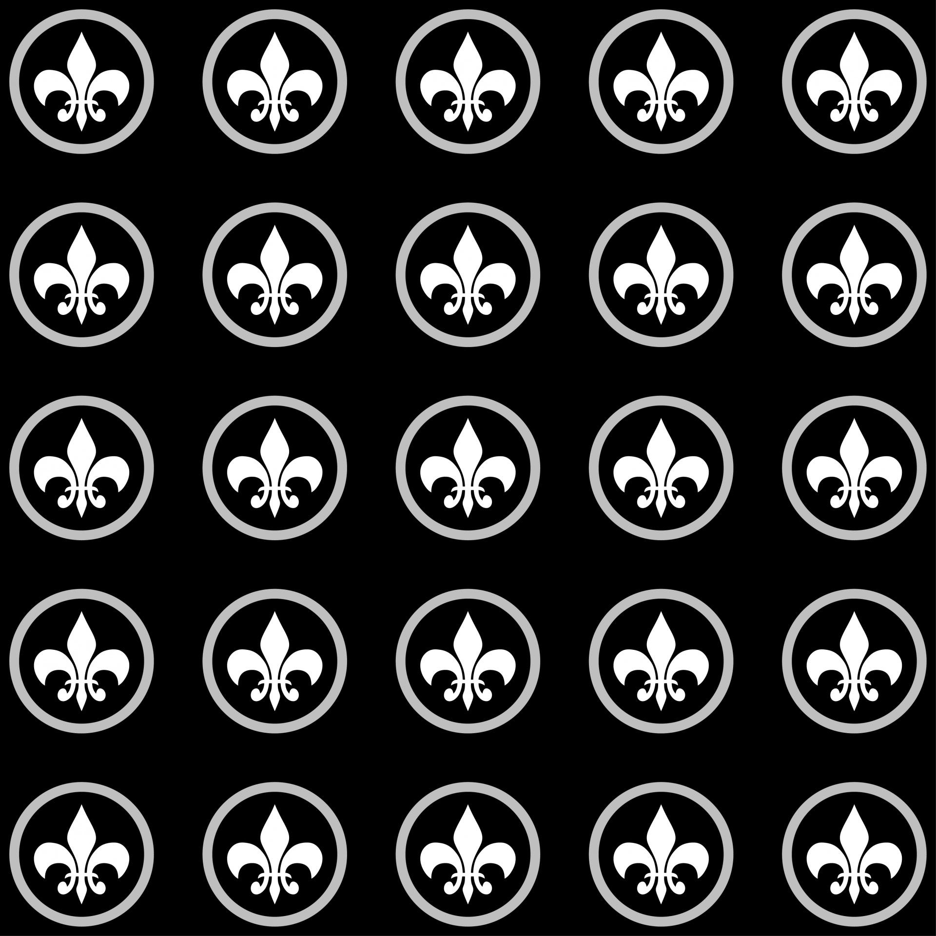 Wallpaper Design Black Fleur De Lis Pattern Wallpaper Free Stock Photo Public