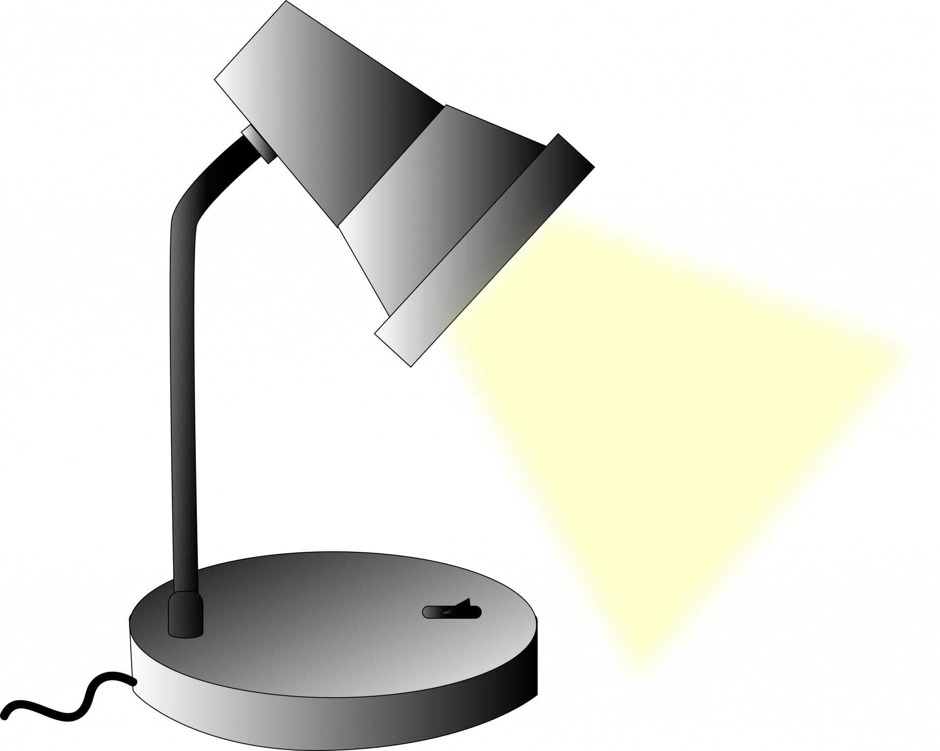 Desktop Lamp Free Stock Photo