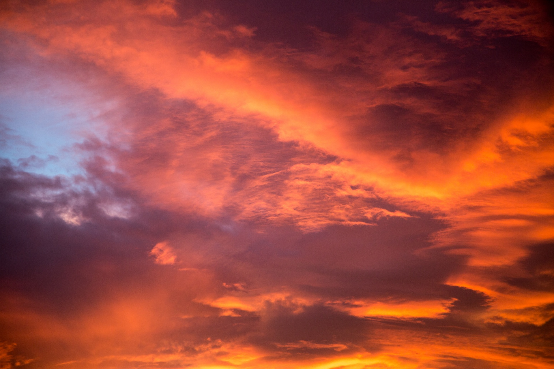 Orange Color Wallpaper Hd Sunset Sky Free Stock Photo Public Domain Pictures
