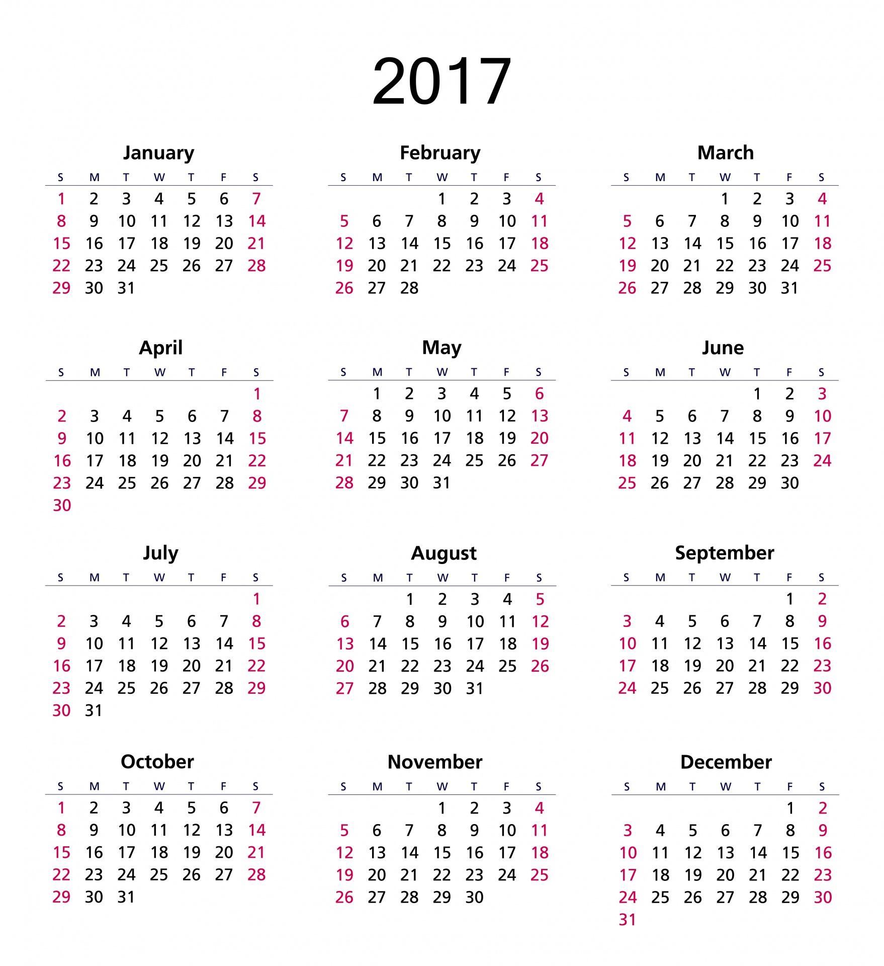 2017 Calendar Online | Calendar 2017