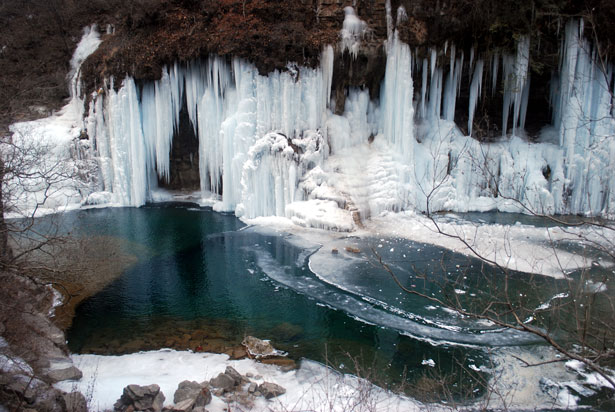 Winter Wallpaper Full Hd Mountain Pond And Ice Free Stock Photo Public Domain