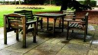 Outside Table And Chair PDF Woodworking