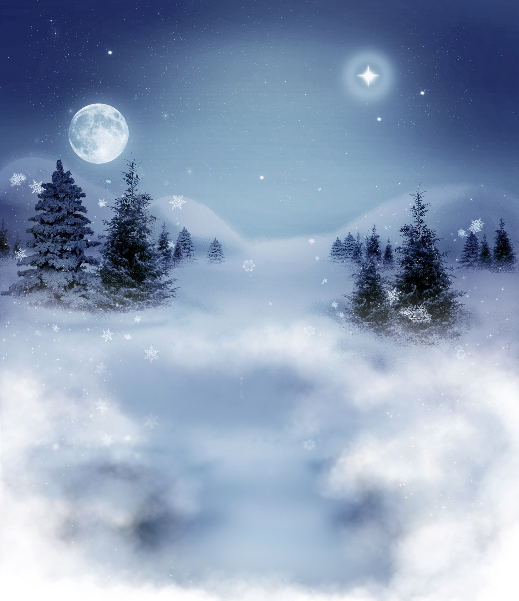 Christmas Falling Snow Wallpaper Note 3 Winter Landscape Free Stock Photo Public Domain Pictures