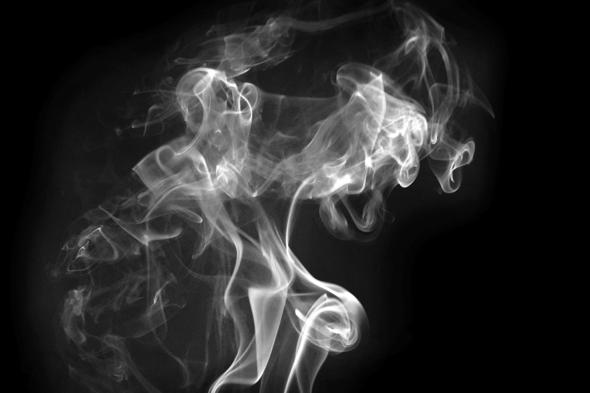 Silhouette Girl Real Wallpaper Smoke 24 Free Stock Photo Public Domain Pictures
