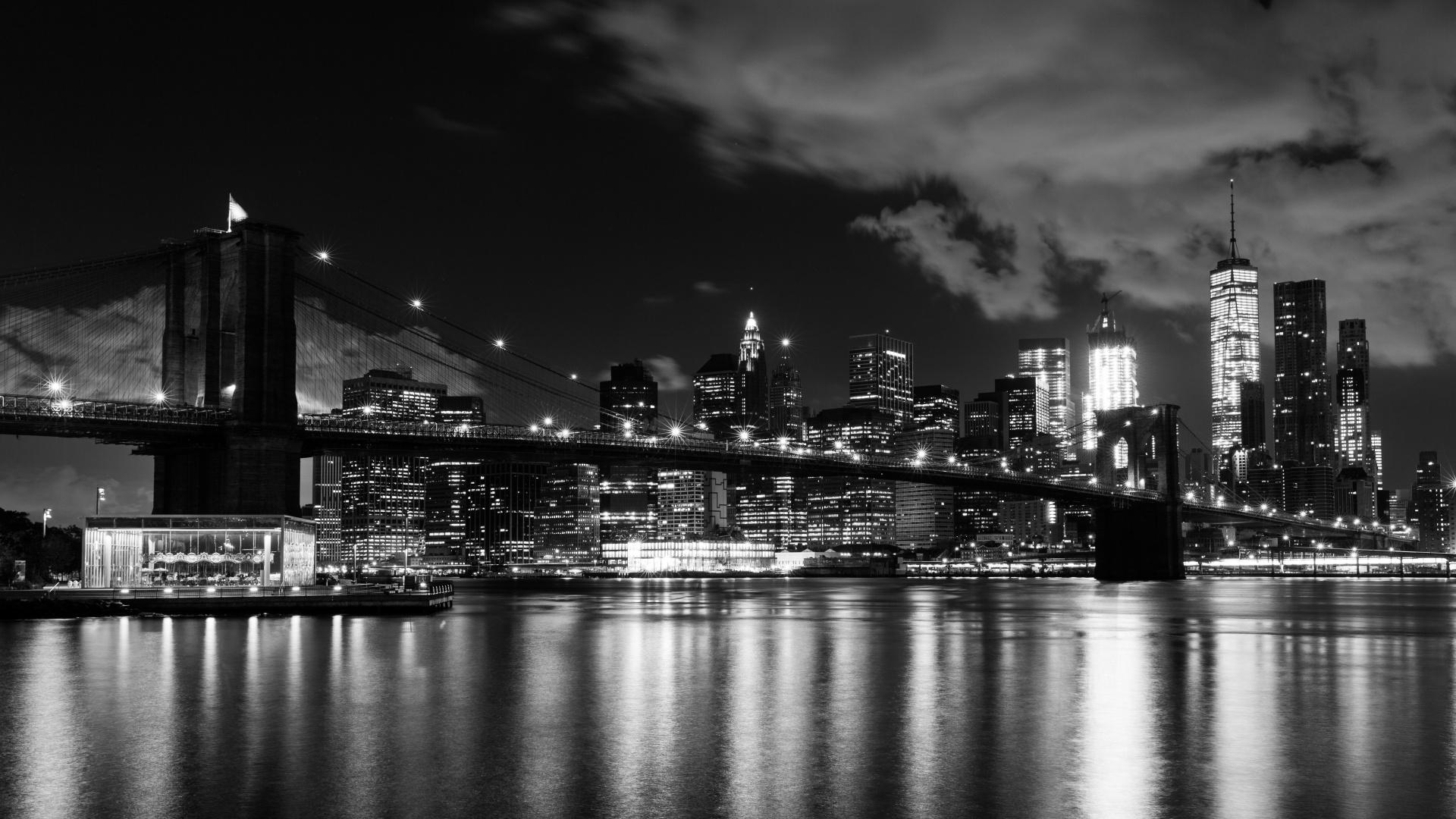 Acer Laptop Hd Wallpaper Download New York Night Skyline Free Stock Photo Public Domain