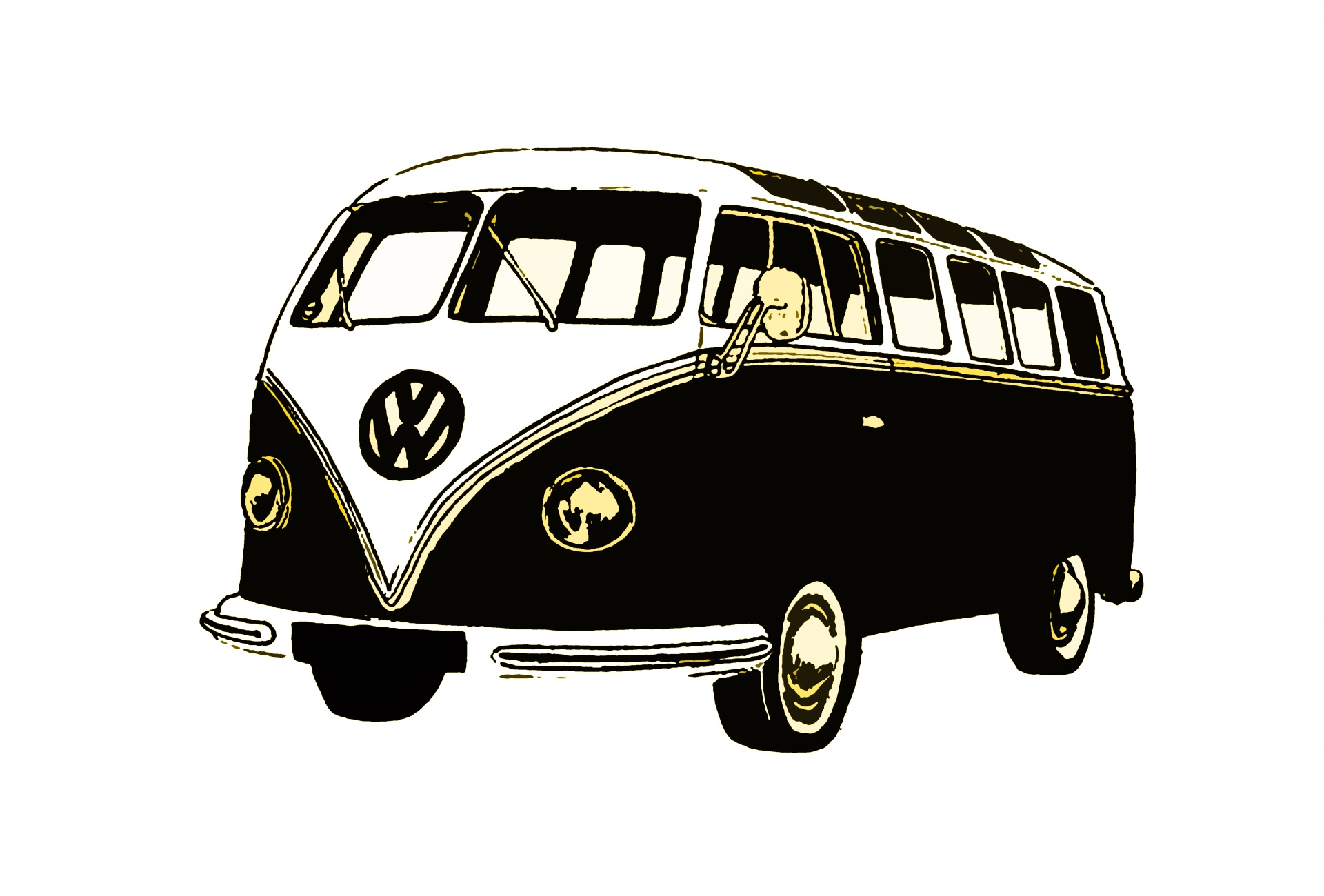 Old Car Wallpaper Download Vw Retro Bus Free Stock Photo Public Domain Pictures