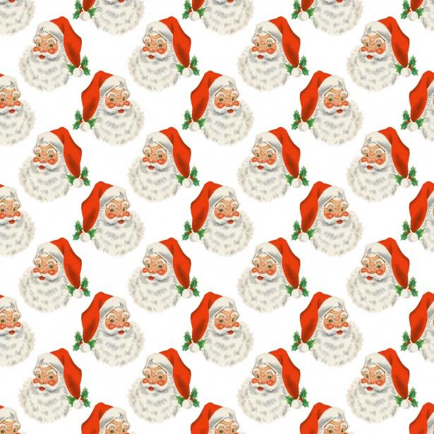Christmas Santa Vintage Background Free Stock Photo - Public Domain