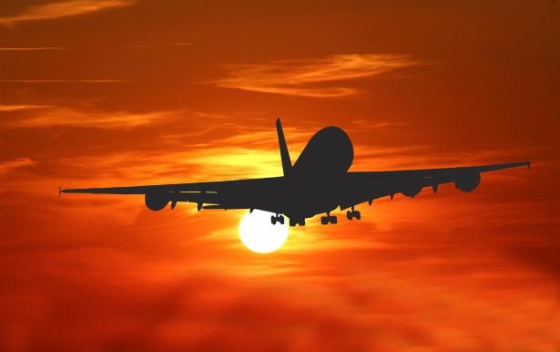 Sun Wallpaper Hd Airplane Sunset Travel Free Stock Photo Public Domain