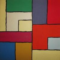 Color Block Art Painting Free Stock Photo - Public Domain ...