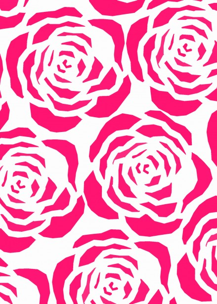 Cute Pattern Wallpaper Free Hot Pink Floral Background Free Stock Photo Public