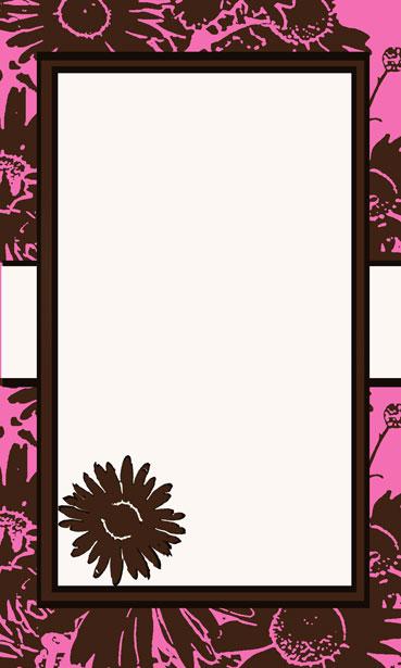 Free Hd Flower Wallpaper Pink Amp Brown Flower Invitation Free Stock Photo Public