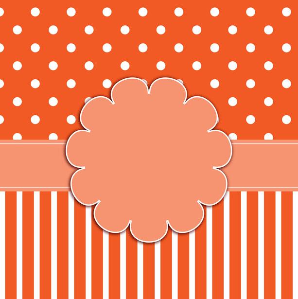Polka Dots  Stripes Background Free Stock Photo - Public Domain