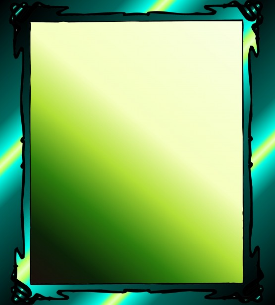 Simple Gradient Green Frame Free Stock Photo - Public Domain Pictures