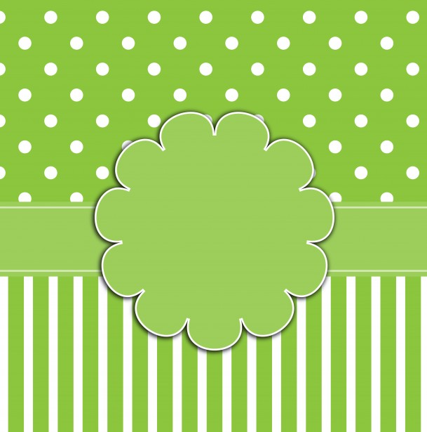 Polka Dots  Stripes Green Free Stock Photo - Public Domain Pictures